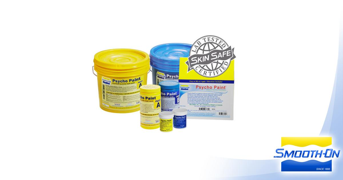Psycho Paint Product Information | Smooth-On, Inc