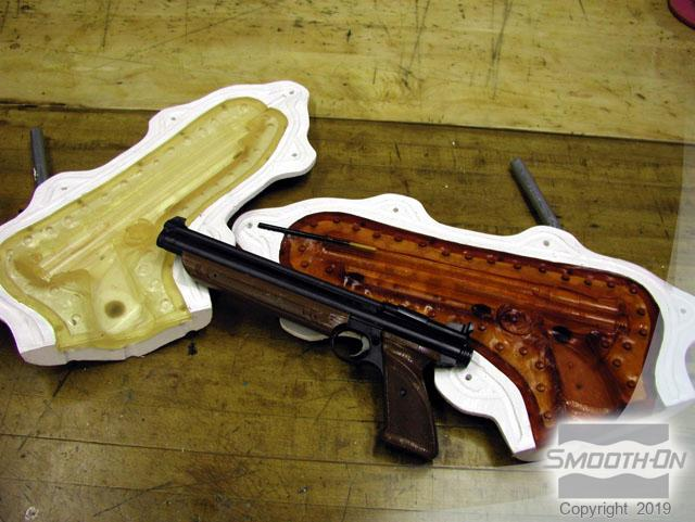 How To Make a Urethane Rubber Mold of Prop Gun