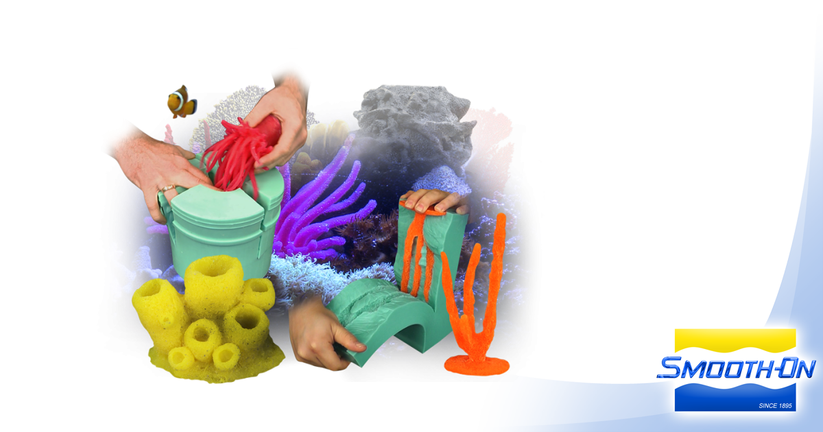 Aquarium Decoration with Smooth-On Materials