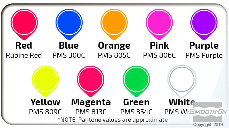 Ignite Colour Chart