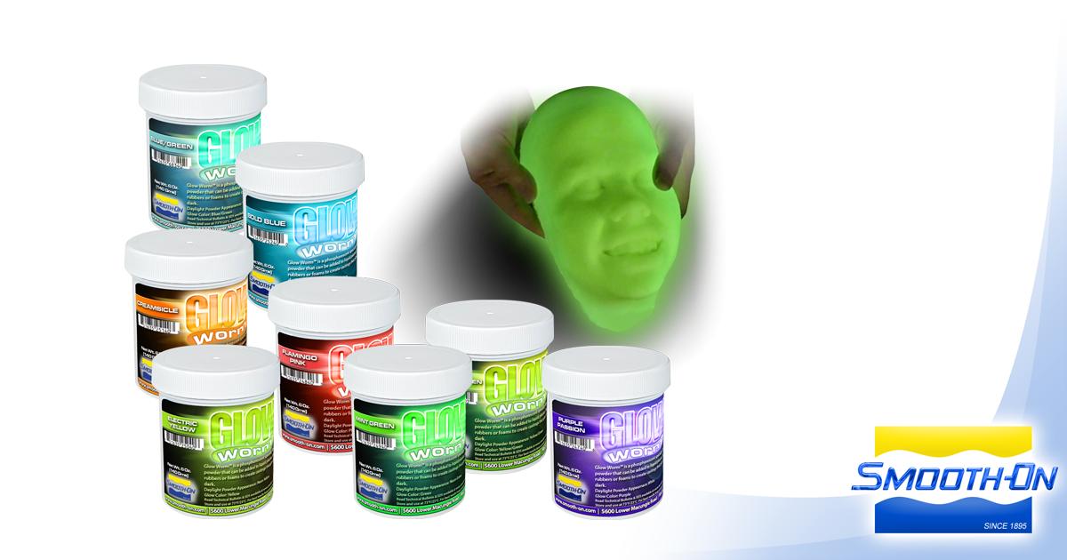 Glow Worm®, Glow-In-The-Dark Powders | Smooth-On, Inc