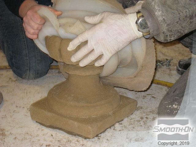 Отливка форма из гипса своими руками