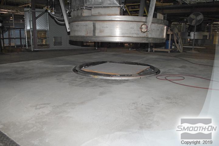 EZ-Spray® Silicone 20 Floor Coating Application
