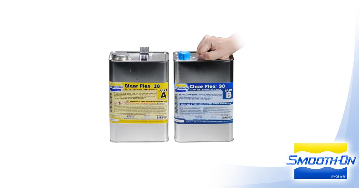 Clear Flex™ 30 Product Information | Smooth-On, Inc