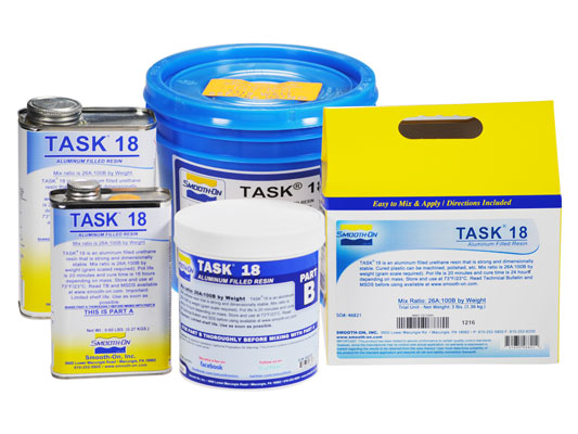 TASK™ 18 vs. EZ-Spray® Silicone 22 vs. EZ-Spray® FoamEZ-Spray® Silicone 22 versus EZ-Spray® Foam