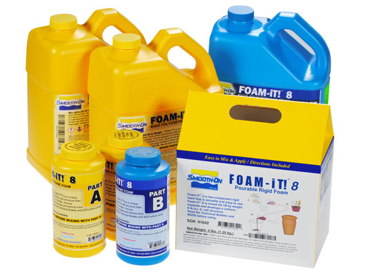FOAM-iT!™ 8 vs. EZ-Spray® Silicone 22EZ-Spray® Silicone 22