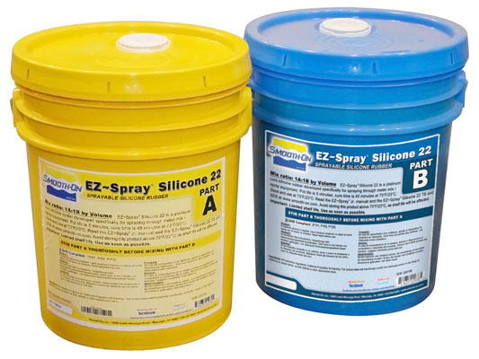 EpoxAcoat™ GREY vs. EZ-Spray® Silicone 22 vs. EZ-Spray® Foam