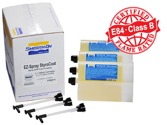 EZ-Spray® Silicone 22 vs. EZ-Spray™ Styrocoat™ vs. EZ-Spray® FoamEZ-Spray® Silicone 22 versus EZ-Spray® Foam