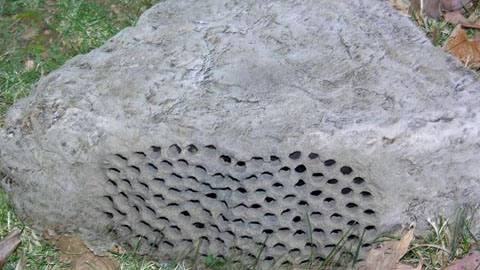 Making Custom Foam Hollow Rocks for Outdoor Speakers