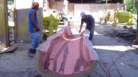 Creating a Rebound® 25 Mold to Cast a GFRC Banyan Tree