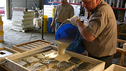 How To Cast Concrete Stone Veneer Using Vytaflex Mold Rubber