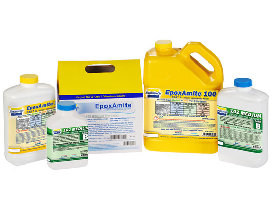 EpoxAmite™ 102 vs. EZ-Spray® Silicone 22 vs. PC-3®EZ-Spray® Silicone 22 versus PC-3®