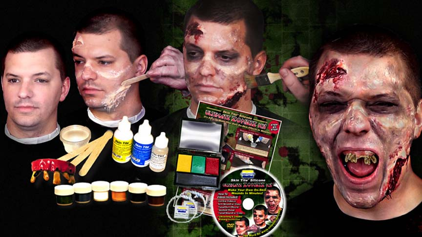 NEW! Skin Tite Silicone Ultimate ZOMBIE KIT!