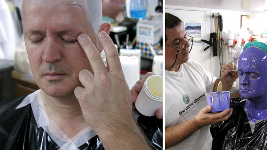 Making A Full Head Lifecasting Using Body Double Silicone Rubber