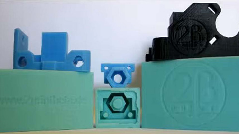 RepRap 3D Printer Parts Made with Smooth-Cast® ONYX™