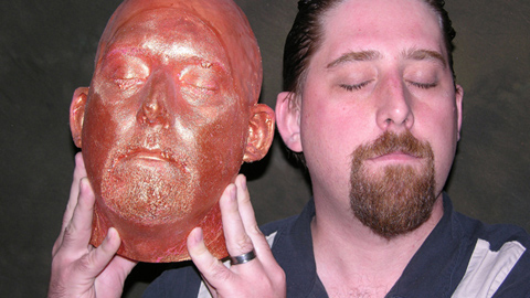 Making a One Piece Mold of a Head Using Body Double®