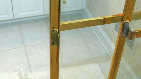 How To Replace a Brass Shower Door Handle
