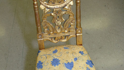Turning an Antique Chair from Trash Into Treasure