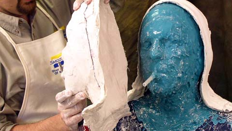 Using Body Double® FAST SET to Make a Mold of a Head
