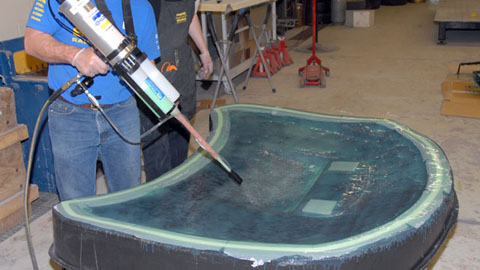 Vacuum Bagging With Smooth On Materials