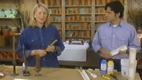 How To Make a Faux Bois Candle Mold Using OOMOO™ With Martha Stewart