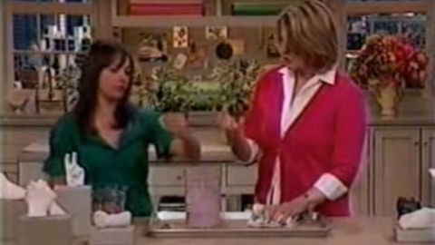 Martha Stewart Making a Hand Mold Using Alja-Safe®