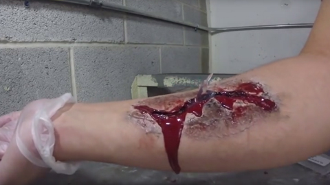 Fake Wound How-To Demonstration
