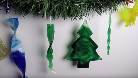 Christmas Ornaments Tutorial Using Casting Resin