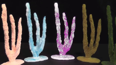 How To Make Finger Corals Using Smooth Cast™ Plastic