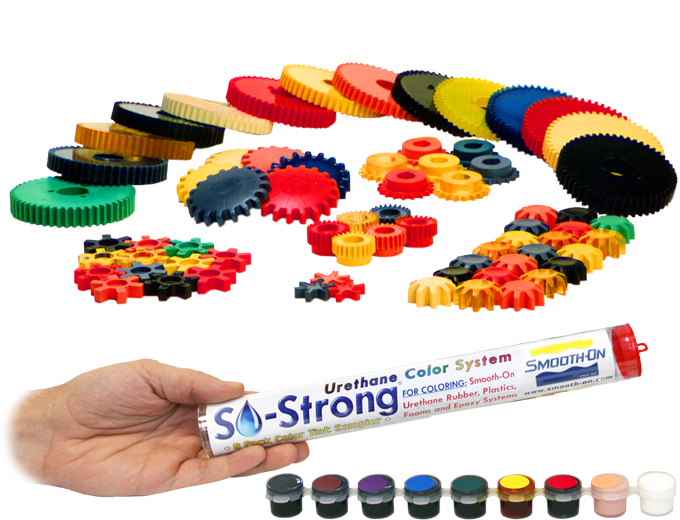SO-Strong®, Color Tints for Urethane and Epoxy | Smooth-On, Inc.