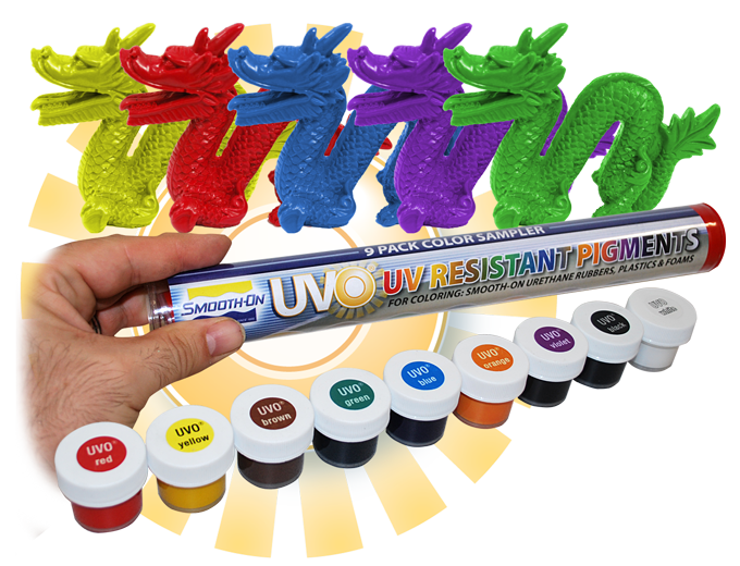 UVO®, UV-Resistant Pigments for Urethane and Epoxy | Smooth-On, Inc.