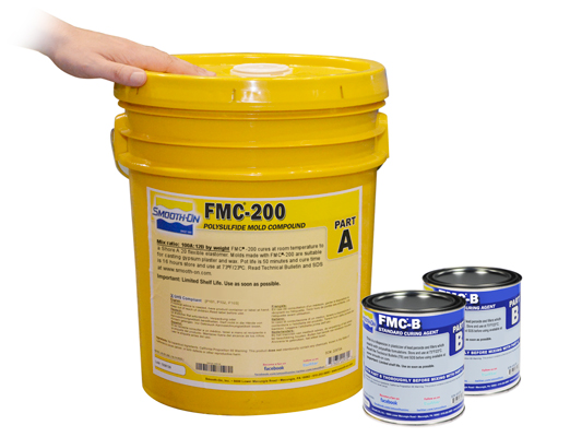 FMC™ 200 vs. Ecoflex™ 5 vs. Smooth-Cast® 310Ecoflex™ 5 versus Smooth-Cast® 310