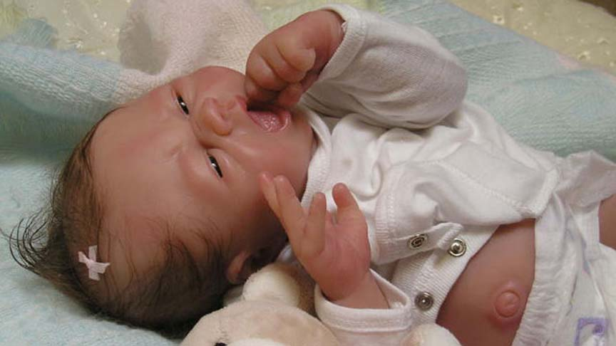 Lifelike Babies Created With Dragon Skin 174 Silicone