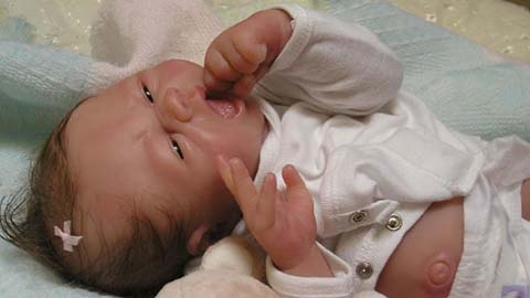 Lifelike Babies Created with Dragon Skin® Silicone