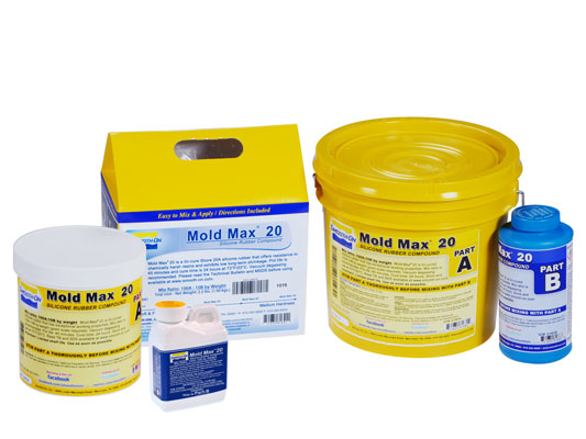 Mold Max™ 20 Silicone Mold Rubber Product Information