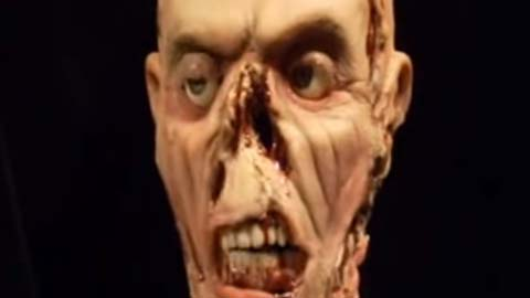 Animatronic Zombie Made Using Mold Max® 10T Silicone
