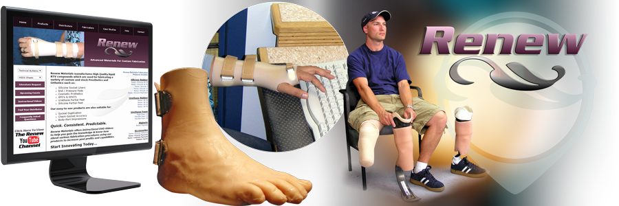 Advanced Materials for Orthotics and Prosthetics