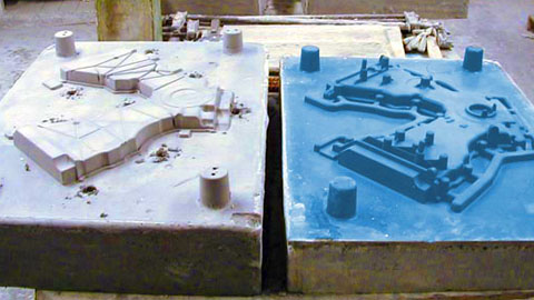 Sand Casting Patterns made with Mold Max® XLS