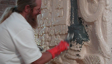 San Diego's Balboa Park restored with Brush-On® 40 mold rubbers.