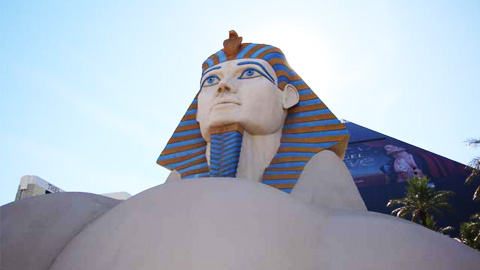 Theming Las Vegas: Smooth-On Products Used at Luxor Hotel & Casino