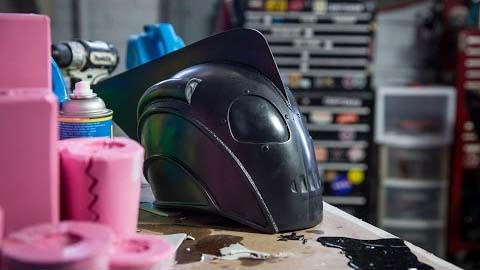 Tested Presents ‑ How To Slush Cast a Prop Helmet
