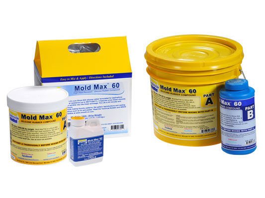 Mold Max™ 60 Silicone Mold Rubber Product Information