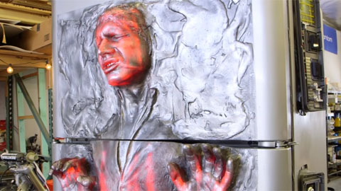 Star Wars Han Solo in Carbonite Refrigerator