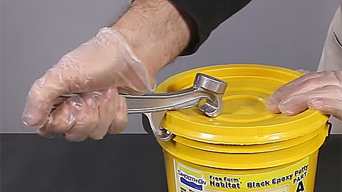 How To Use The Aluminum Pail Opener