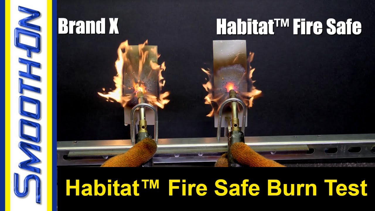 Habitat™ Fire Safe Flame Test