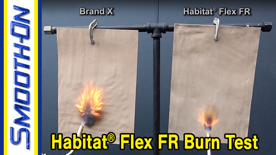 Habitat™ Flex FR Flame Test