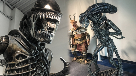 Arcana Workshop Brings to Life Xenomorph with Smooth-On Products
