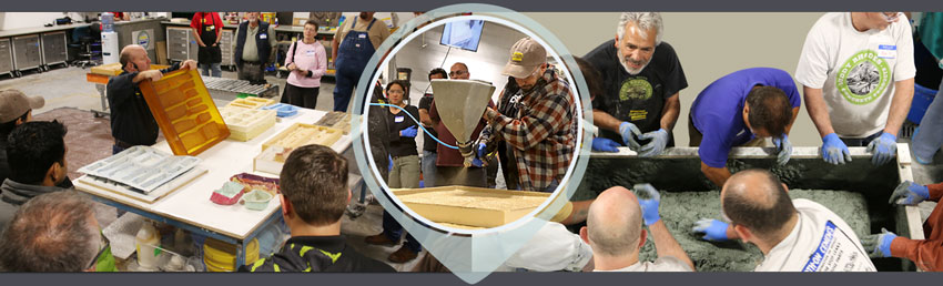 Mold Making for Concrete & Buddy Rhodes Concrete Casting Seminar