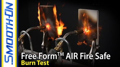 Free Form™ AIR Fire Safe Flame Test