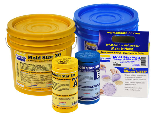 Mold Star™ 30 vs. EZ-Spray® Silicone 22EZ-Spray® Silicone 22
